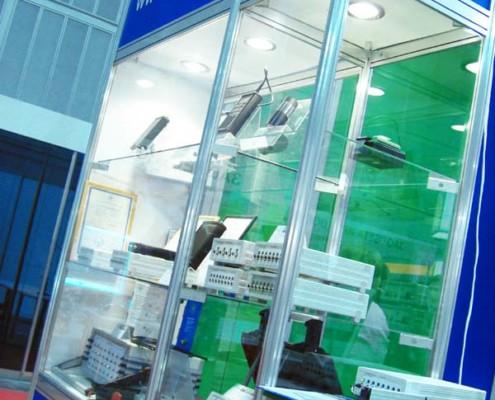 На выставке были представлены тензостанции, осциллографы, платы АЦП, тензорезисторы и многое другое
