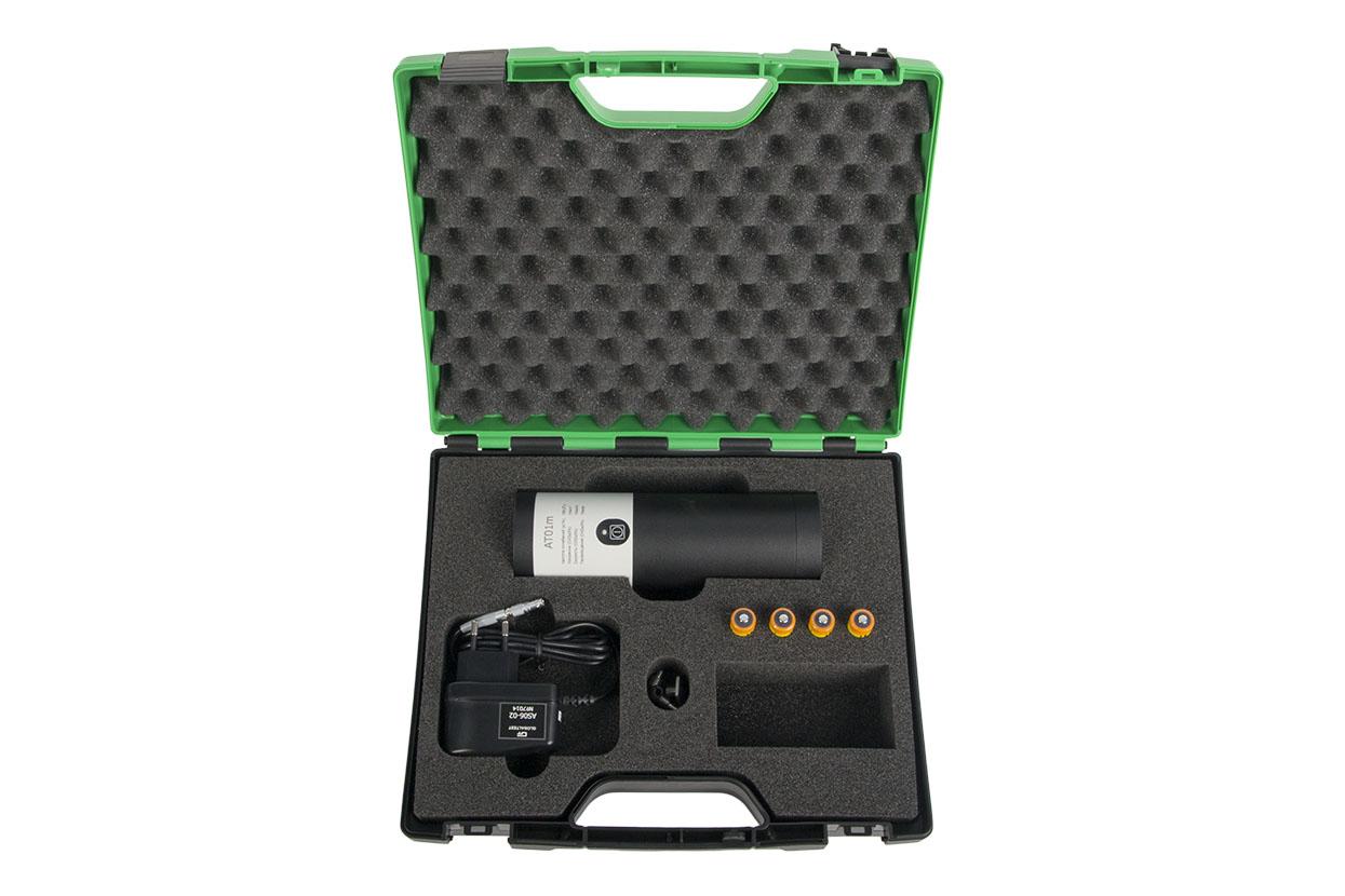 Комплект поставки выброкалибратора портативного AT01m