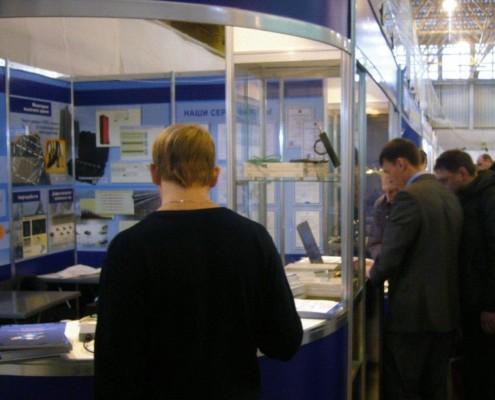 На выставке демонстрировалась и другая новинка - визуализация испытаний в SCADA ZETView на примере системы мониторинга состояний конструкций зданий