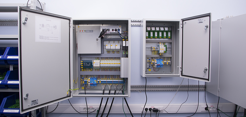 Digital electrical cabinet