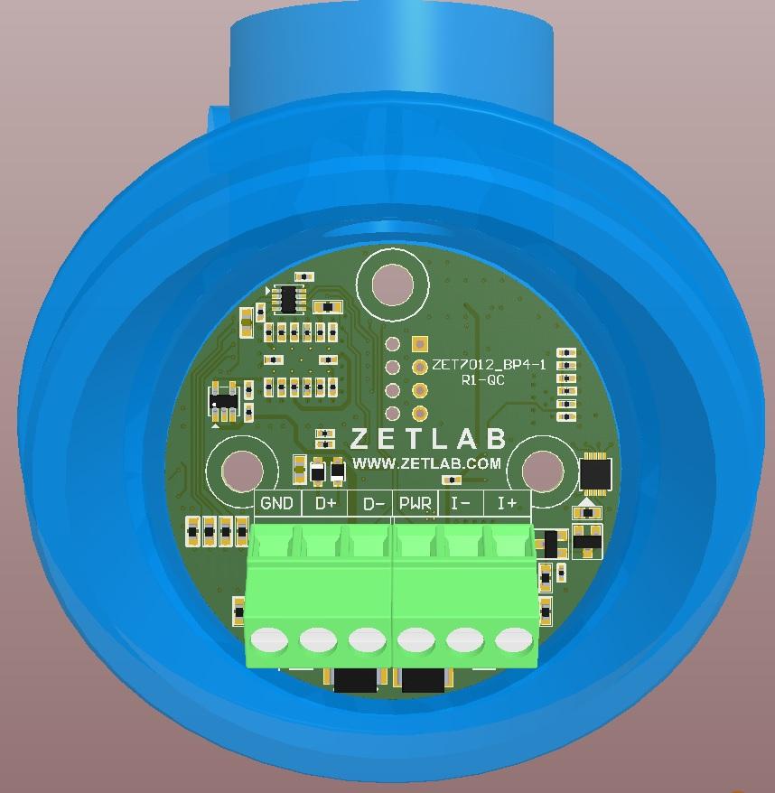 Подключение к измерительной сети датчиков давления в корпусе BP4-1