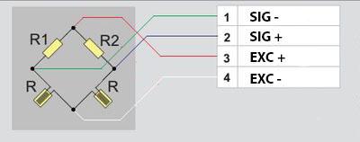 Полумостовая схема подключения