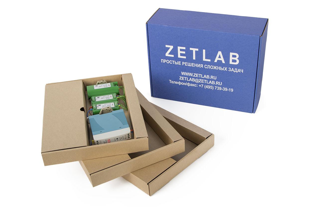 базовая комплектация цифровых датчиков семейства ZETSENSOR