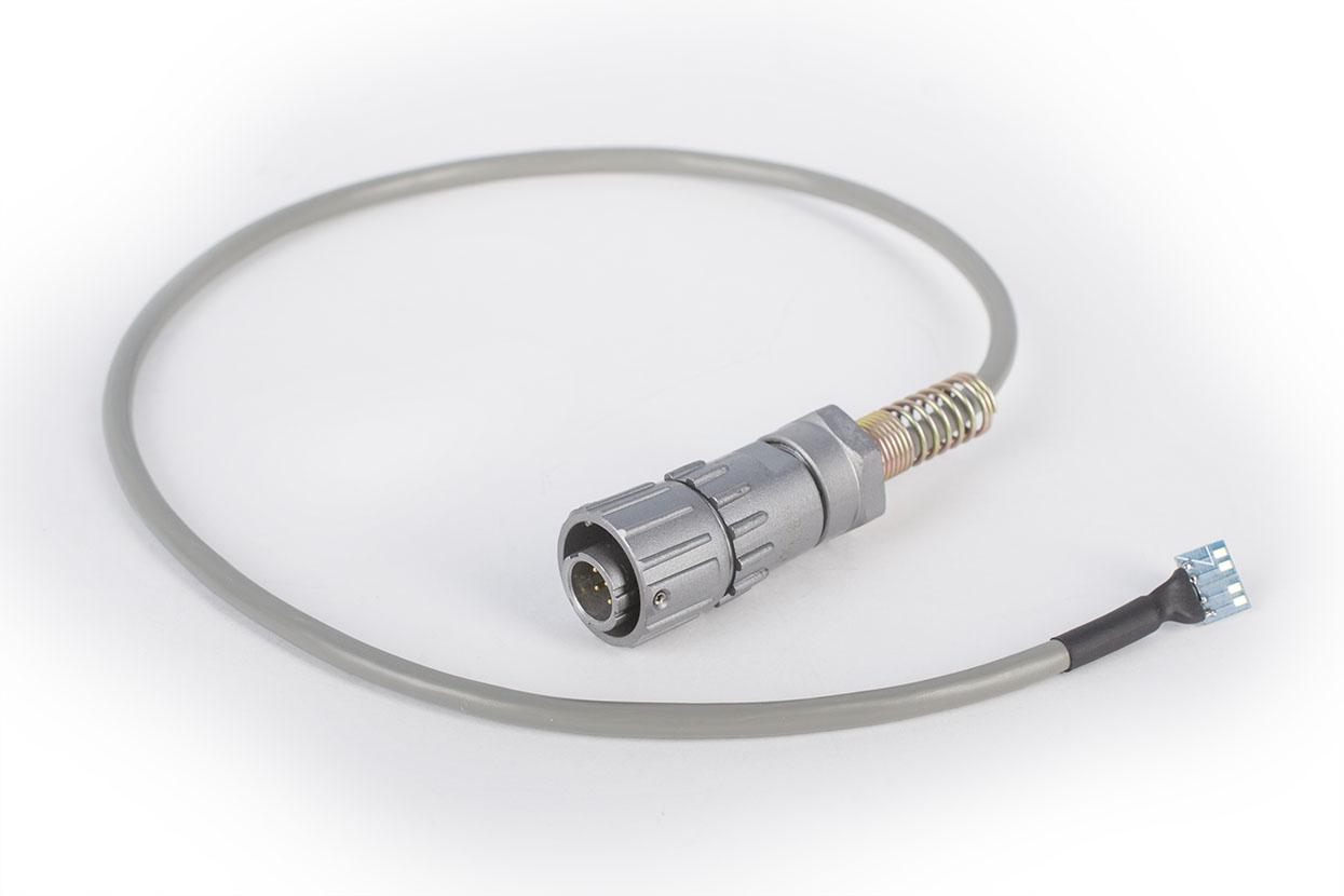 Кабель CLM для подключения тензорезисторов к тензометрическим модулям ZETSENSOR в промышленном корпусе