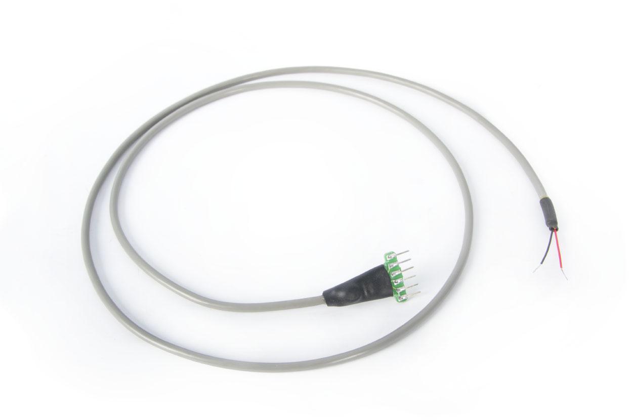 Кабель для подключения тензорезисторов к модулям ZETSENSOR в лабораторном исполнении