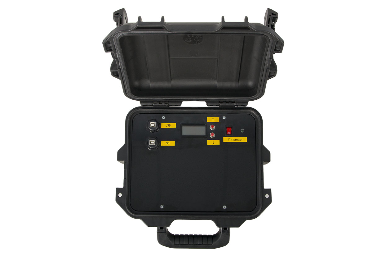 Mobile set of Sdl Vector. View from above