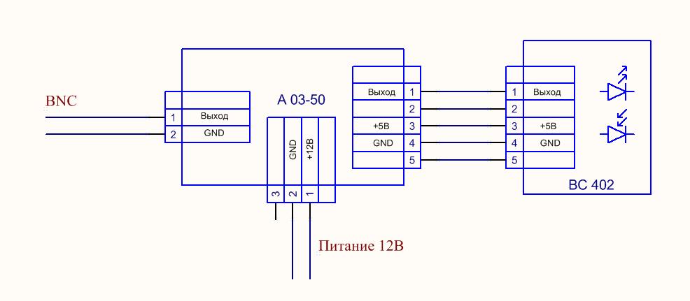структурная схема ВС 402