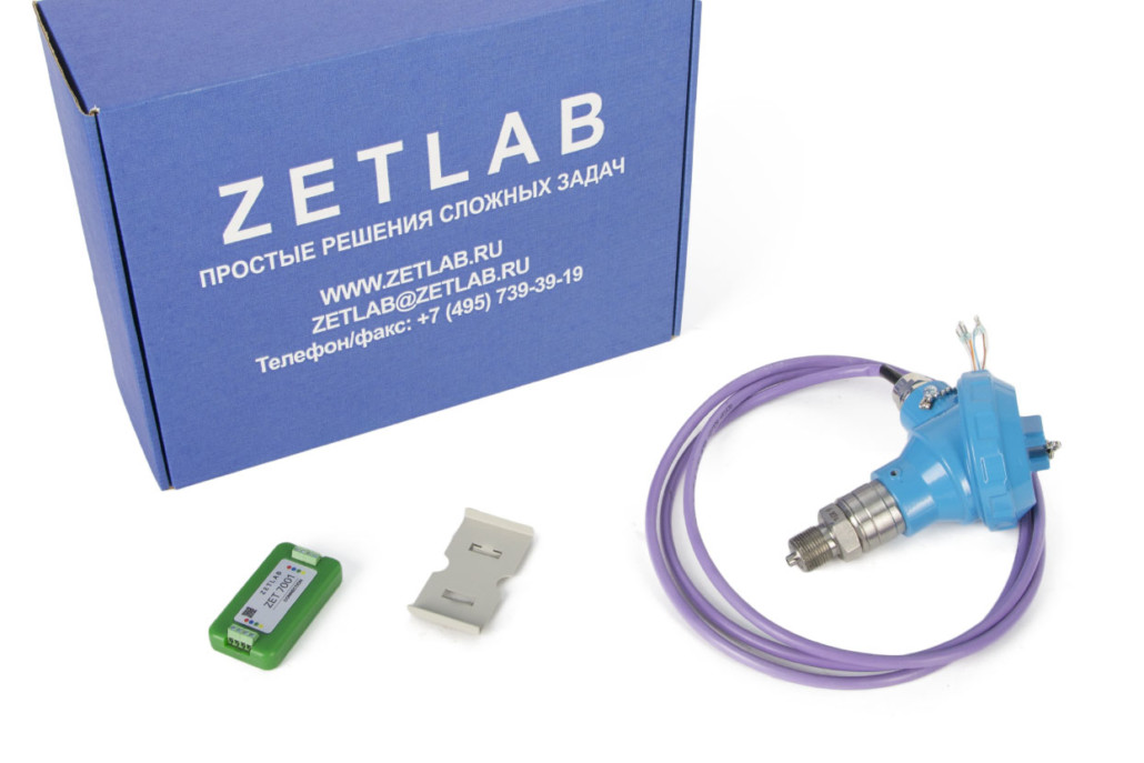 ZET 7012-A-VER.1 digital pressure meter - Basic delivery scope
