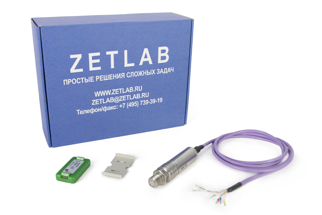 ZET 7112-I VER.2 digital gauge pressure (open membrane) - delivery scope