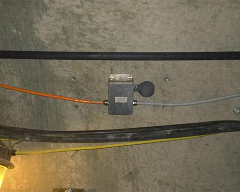 датчик давления грунта в тоннеле