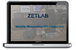 Assembly of ZETLAB Mobile Measuring System