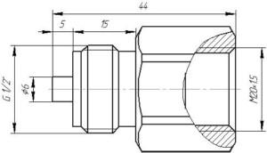 Переходник M20.1.5-G 1.2
