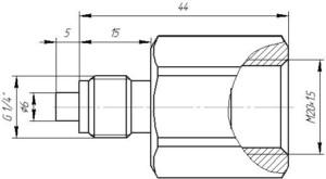 Переходник M20.1.5-G 1.4