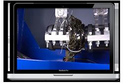 Pendulum shock testing machine ZETLAB
