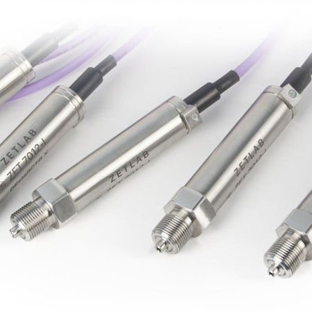 Digital pressure sensors for absolute pressure and overpressure measurements