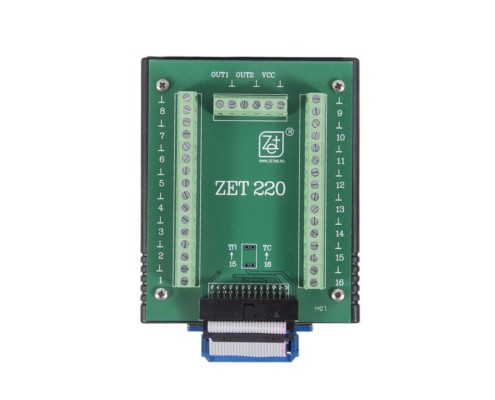 ADC DAC Module ZET 220 - top view