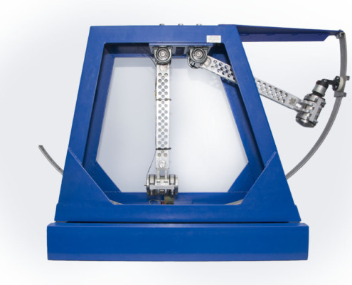 UDAR-1 - Shock testing machine - sideview