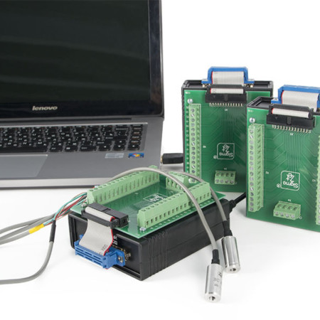 ADC / DAC modules, digital USB oscillographs