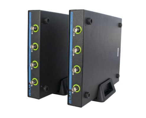 Контроллеры ZETLAB, установленные на держатели