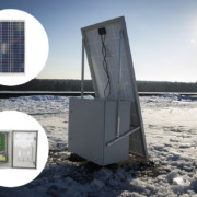 Powering the system from the solar panel