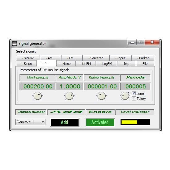 Signal-generator-Radio-pulse-signal-1