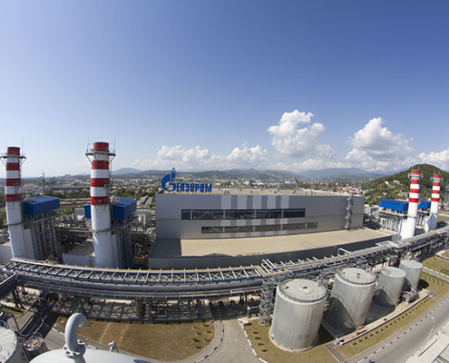Adler thermal power plant - main