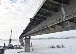 Bridge over Kama river - main