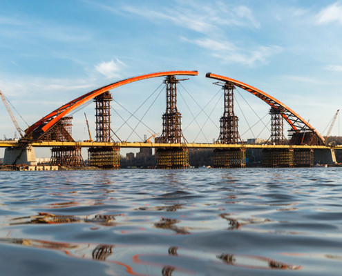Bugrinskiy bridge - main