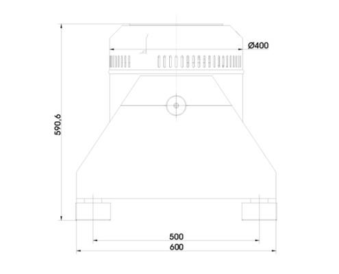 Габаритные размеры TV 50350LS-120