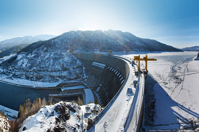 Mayn hydroelectric power station - overview