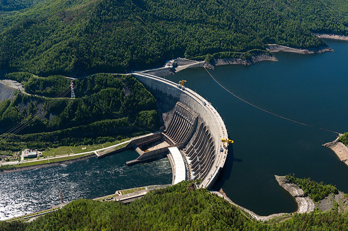 Sayano–Shushenskaya Dam - main