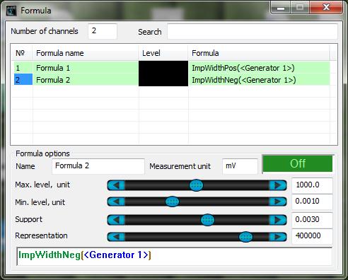 ZETLAB Formula-Measurement functions-Formula-ImpwidthPos-ImpwidthNeg