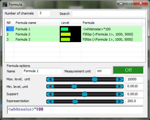 ZETLAB Formula-Signals filtering-whitenoise-FIRbp-FIRbs