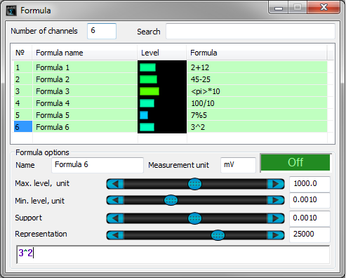 ZETLAB Formula_6 channels_parallel operation