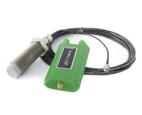 ZET 701 eddy current probe - set for measurements performance