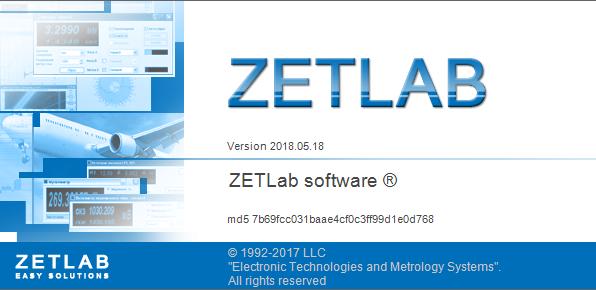 ZETLAB software update