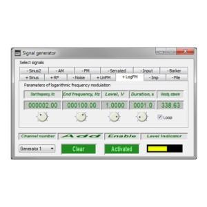 Generador de señales de frecuencia modulada
