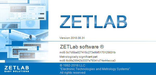 ZETLAB software update dt. 31.08.2018 - main image