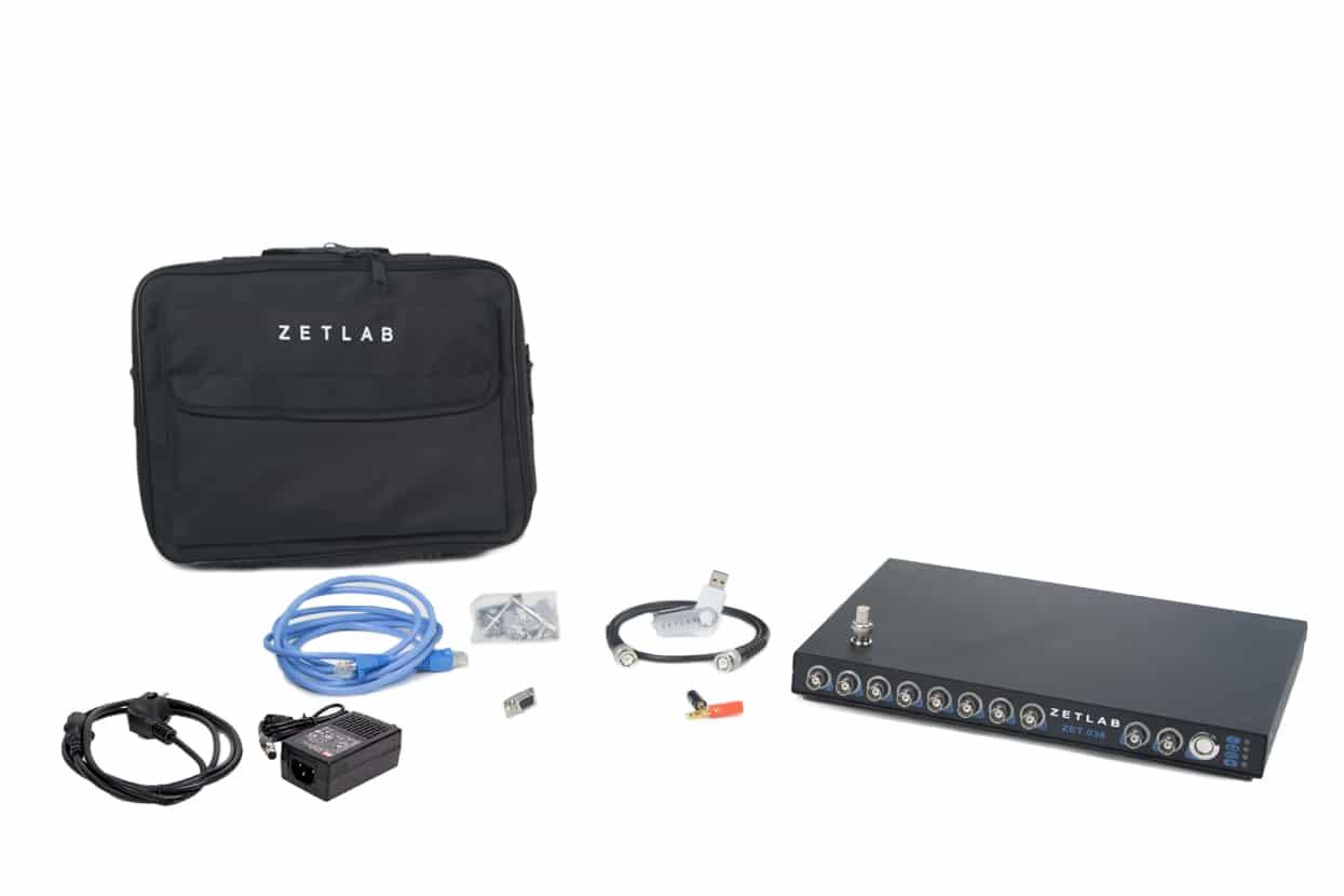 Базовая комплектация ZET-038 2020