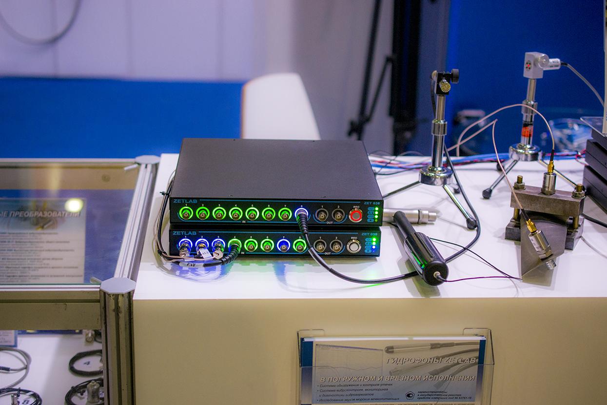 Стенд виброакустическая система с лопаткой