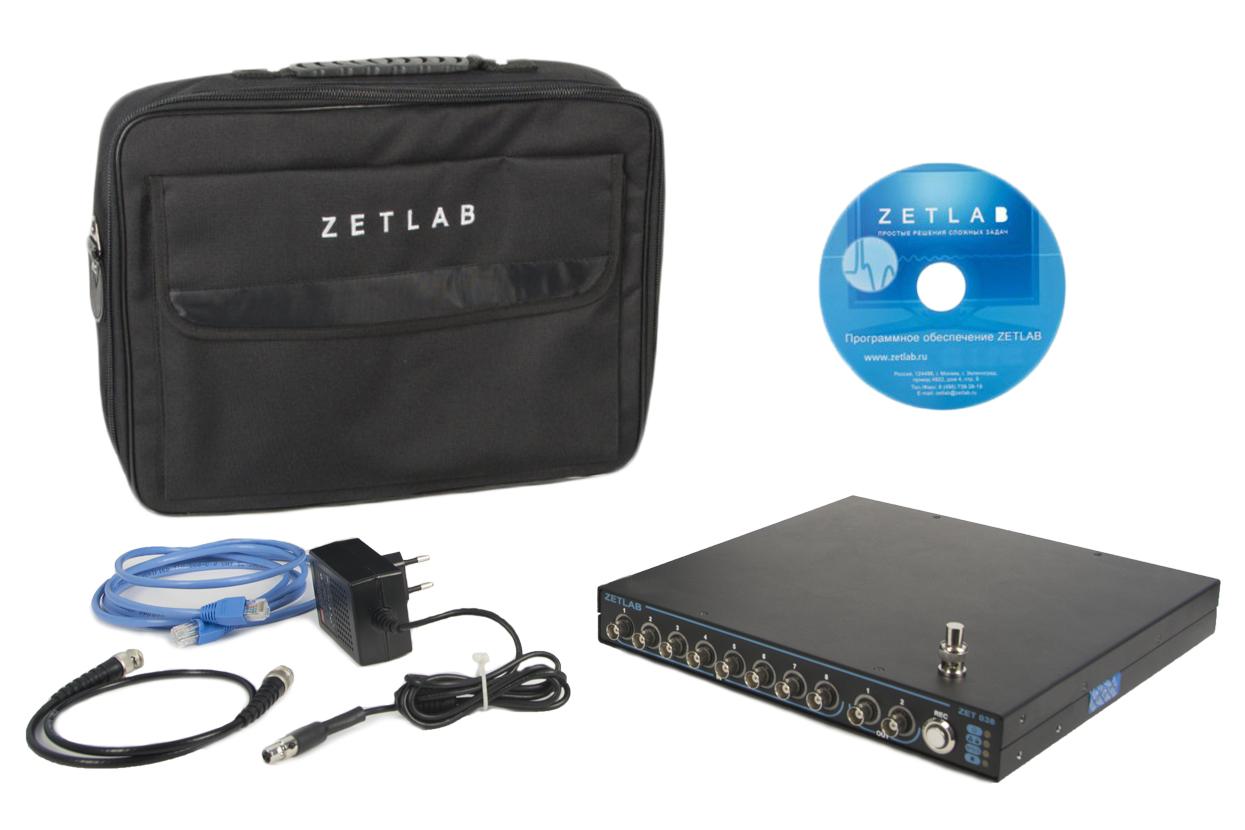 Базовый комплект поставки анализаторов спектра ZET 038