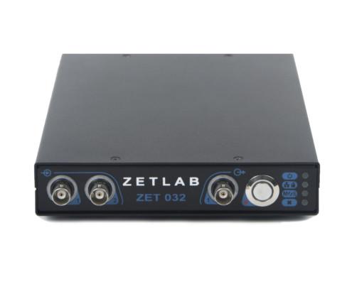 Передняя панель анализатора спектра ZET 032