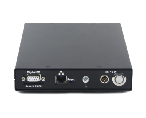 Задняя панель анализатора спектра ZET 032