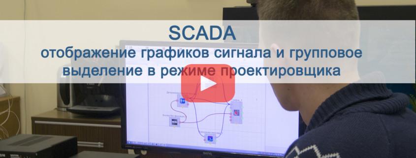 SCADA отображение графиков сигнала. Preview