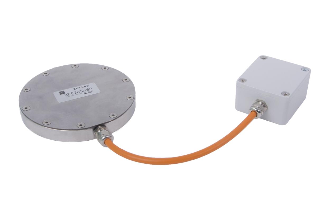 General view of Digital soil pressure transducer ZET 7010 SP