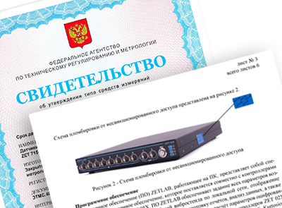 Контроллеры ZET 02X, ZET 03X, ZET 05X внесены в Государственный реестр СИ РФ