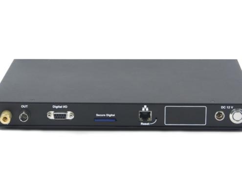 FFT Spectrum analyzer ZET 038 - back view - connection ports