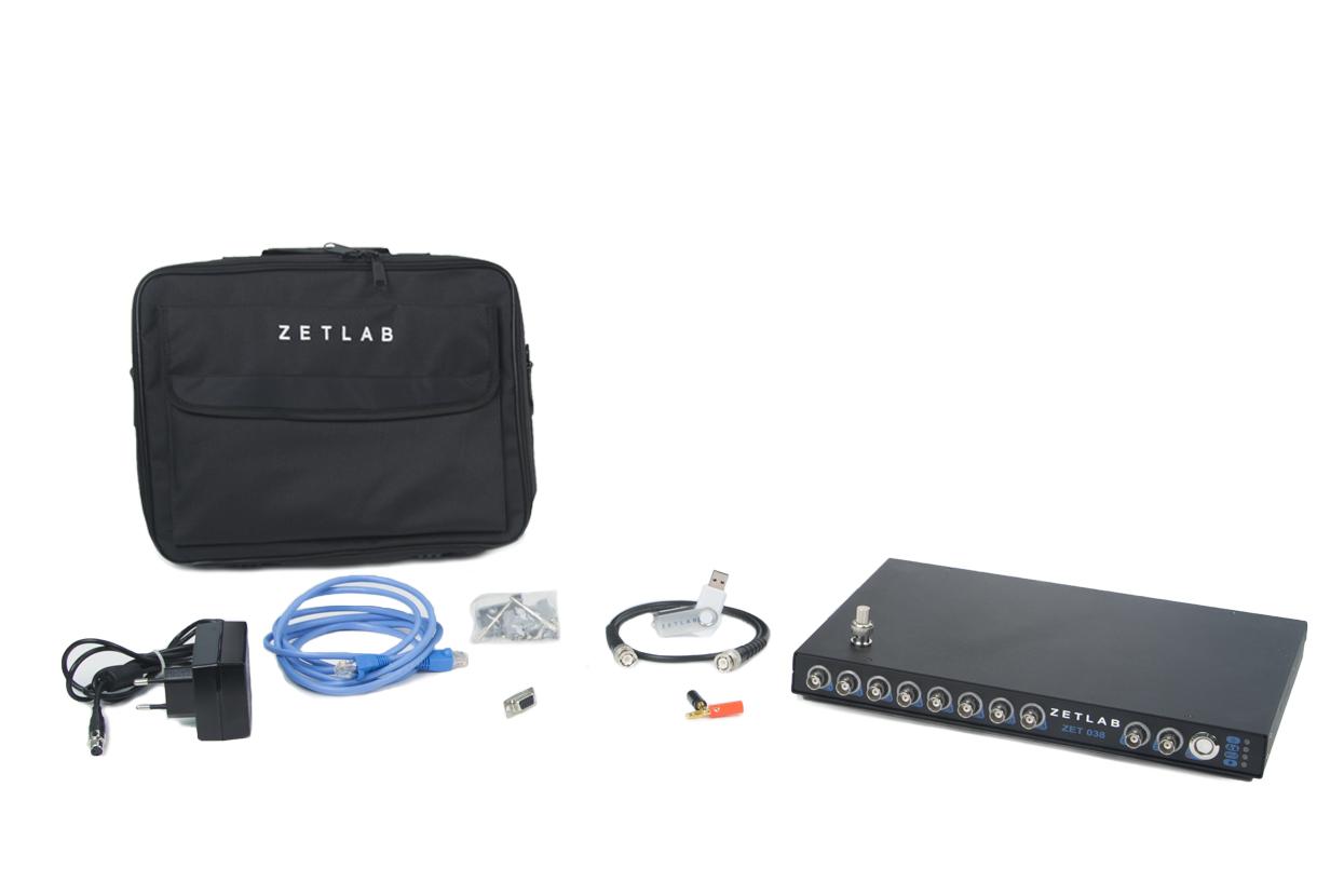 FFT Spectrum analyzer ZET-038 - basic delivery scope