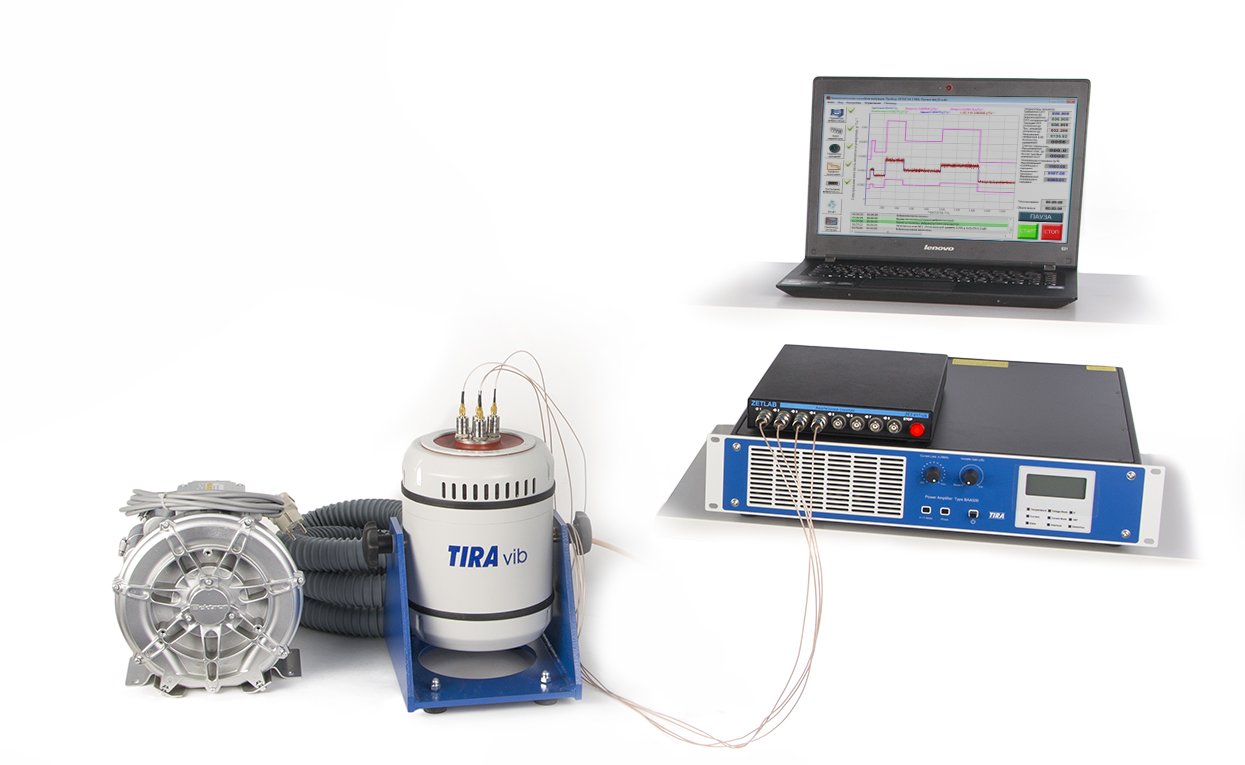Selection and operation of the shaker controller