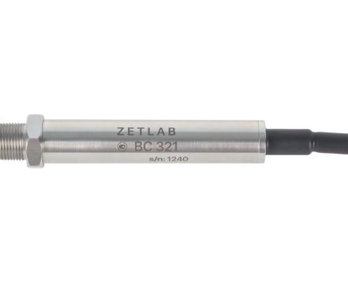 Hydrophone BC 321 by ZETLAB - side view